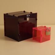 Adománygyűjtő doboz - lapraszerelt