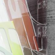 Flexiplus Bővíthető fali prospektustartó