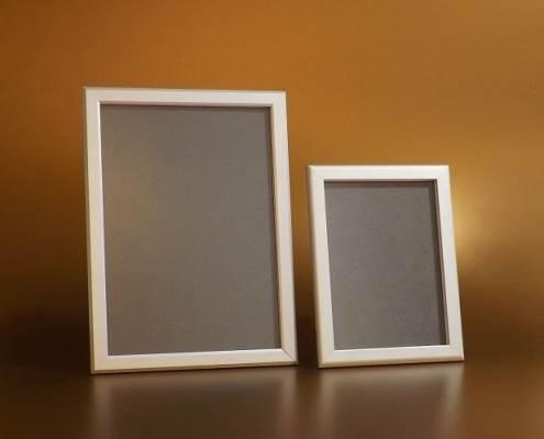 Plakáttartó, alumínium, 20 mm-es profil