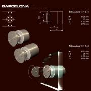 Távtartó Barcelona - biztonsági kulcsos