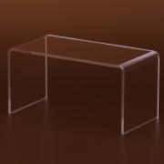 Téglalap alakú plexi áruemelő