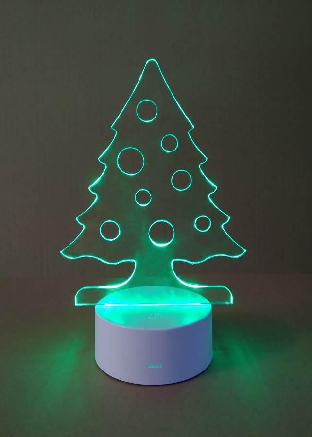 Plexi lap LED-es talppal, gravírozás nélkül