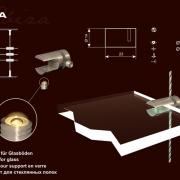 IBIZA- Egyoldalas polctartó
