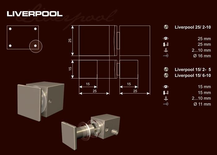 Távtartó Liverpool