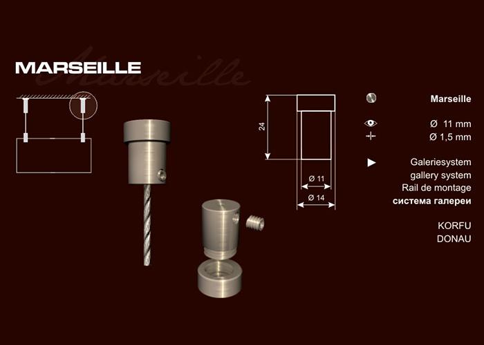 Marseille sodronyröggzítő