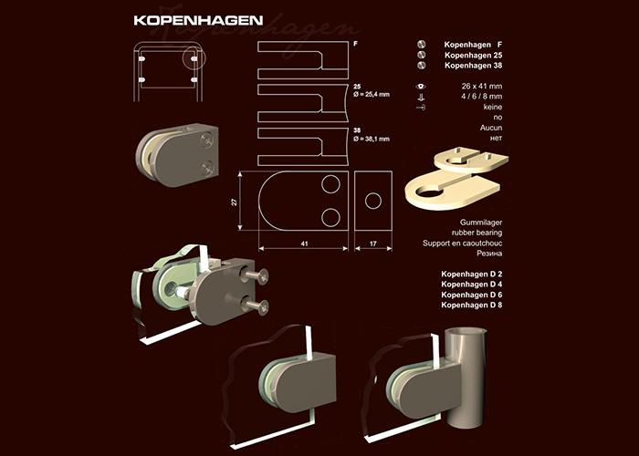 """Táblatartó """"Kopenhagen"""""""