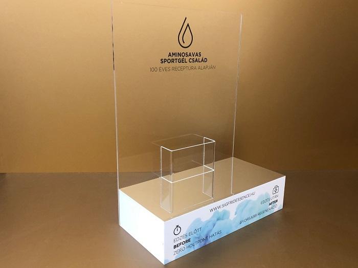 Egyedi gyártású vitron, display
